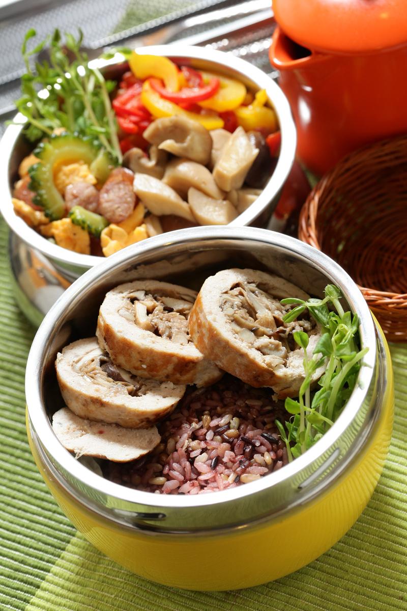 蕈菇雞肉卷