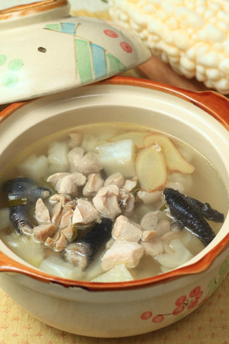 苦瓜燉雞胸肉湯