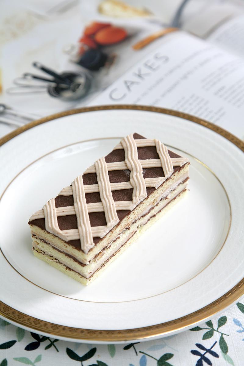 法式栗子蛋糕