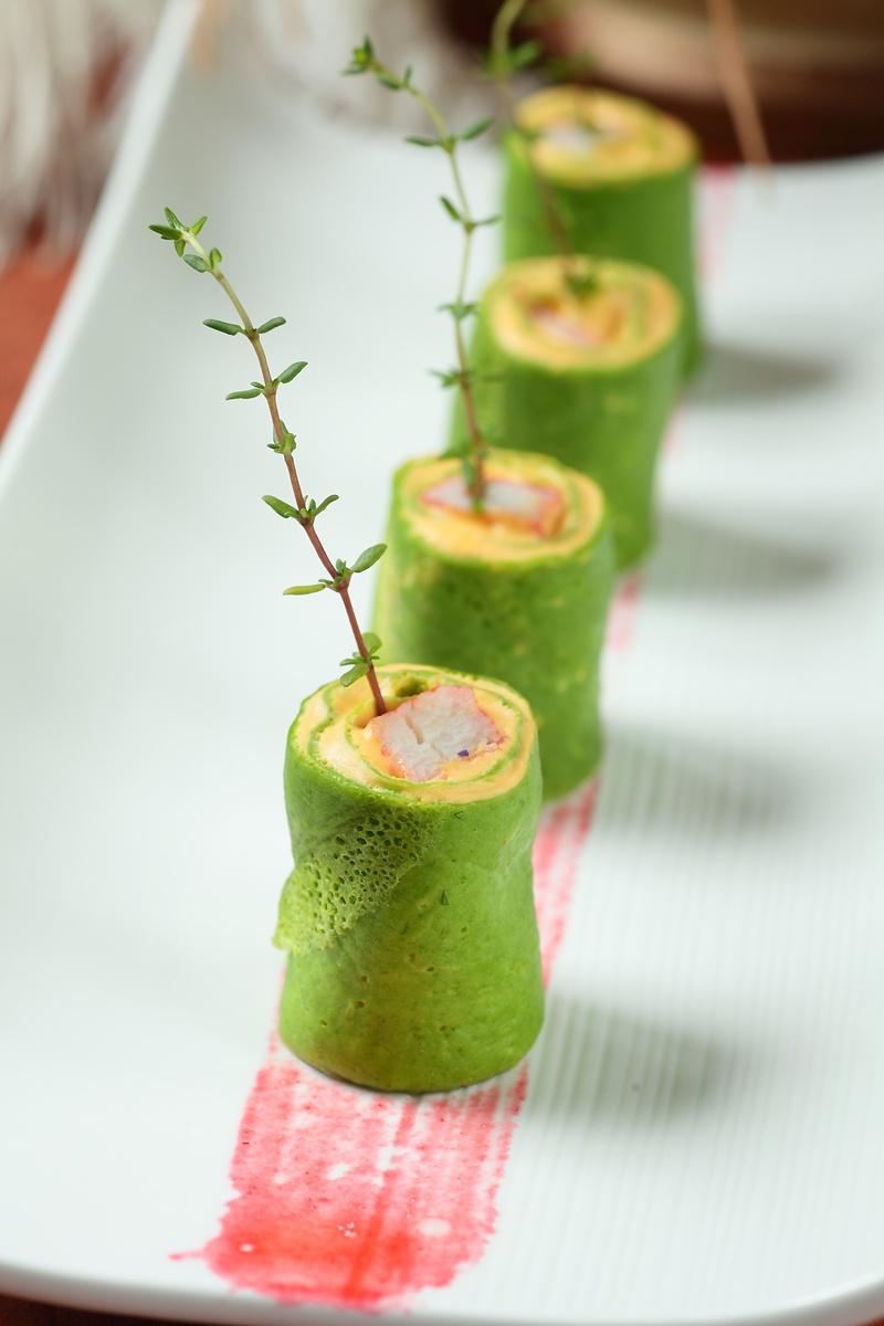 法式菠菜南瓜餅