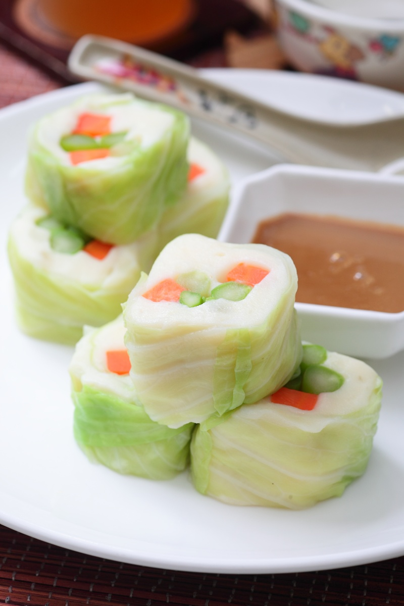 胡麻野菜卷