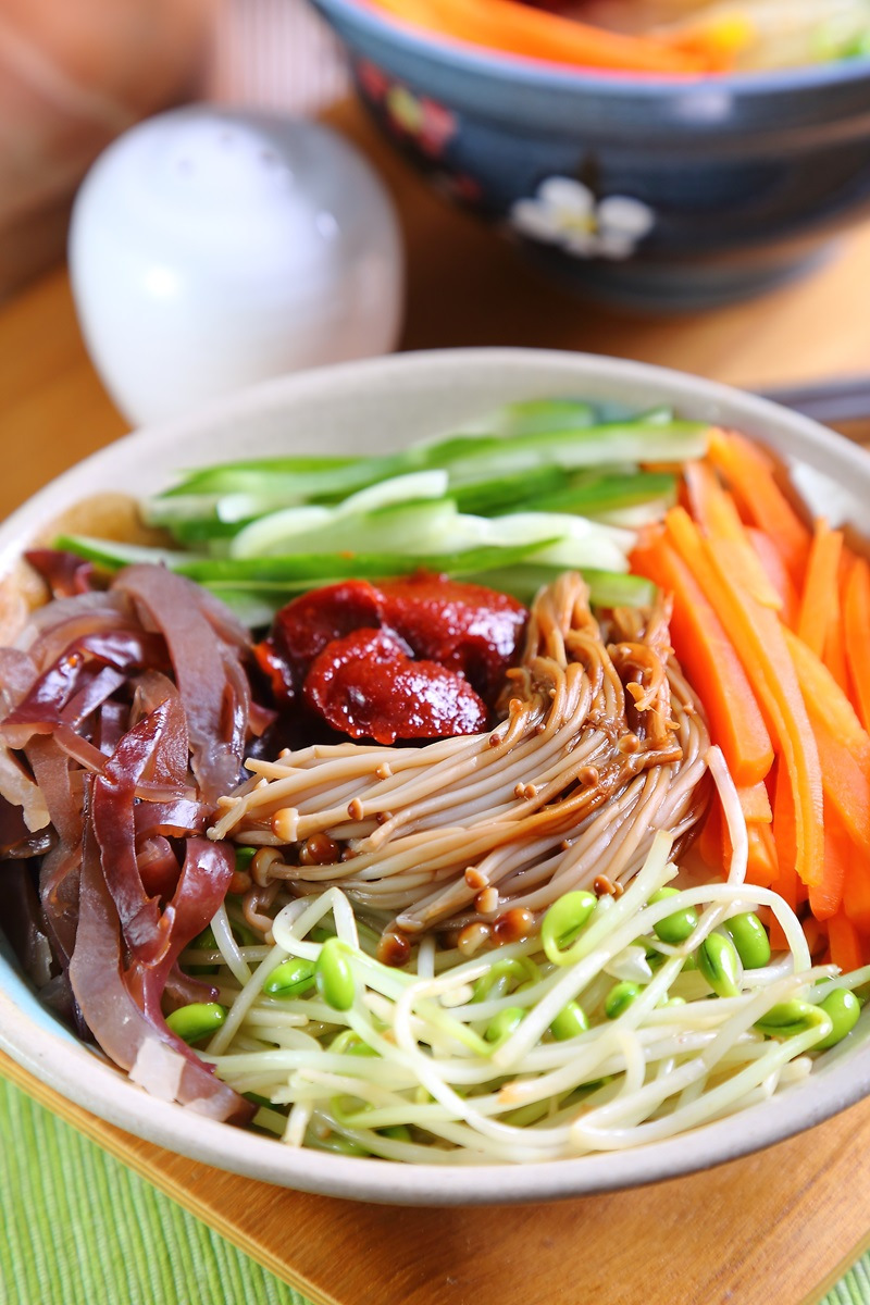 綜合蔬菜拌飯