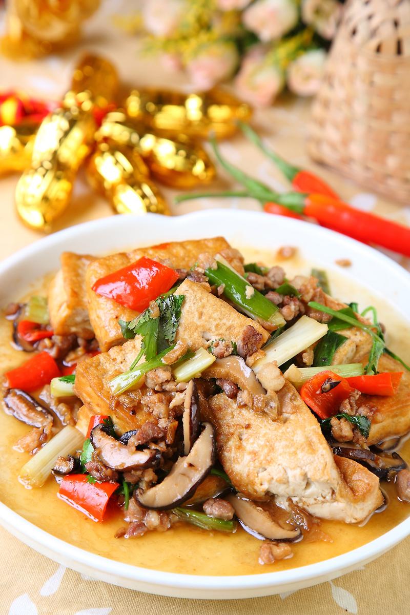 福菜煨豆腐
