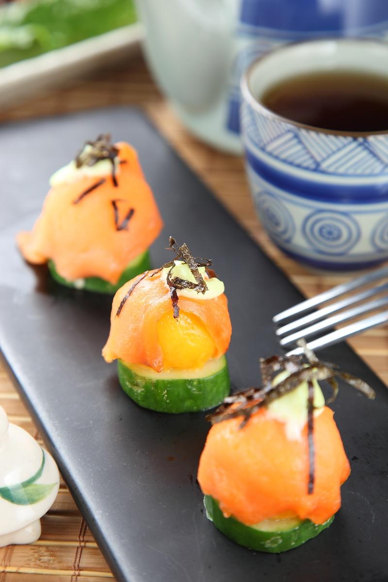 鮮果鮭魚球