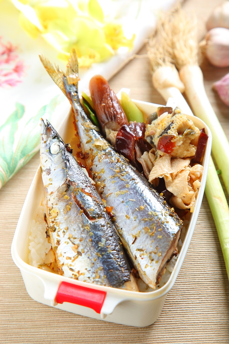香煎秋刀魚