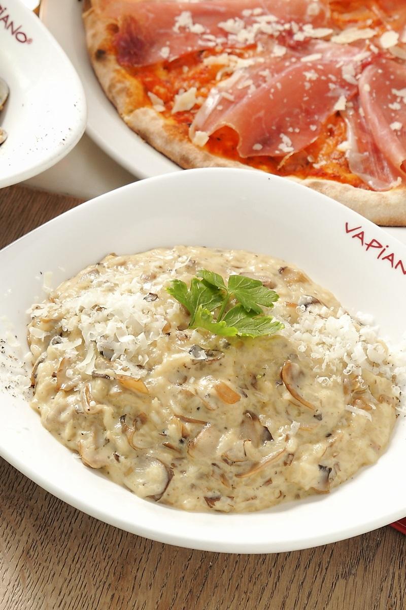 Vapaino 奶油蘑菇燉飯