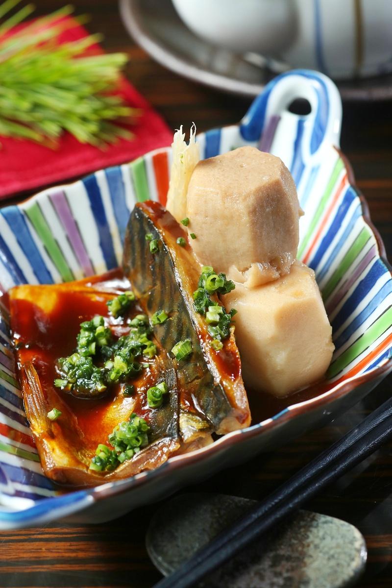 里芋鯖魚味噌煮