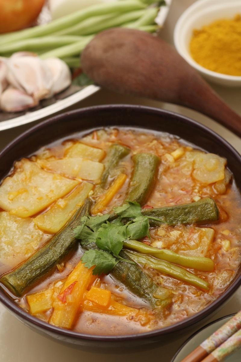 緬甸風味蔬菜酸湯