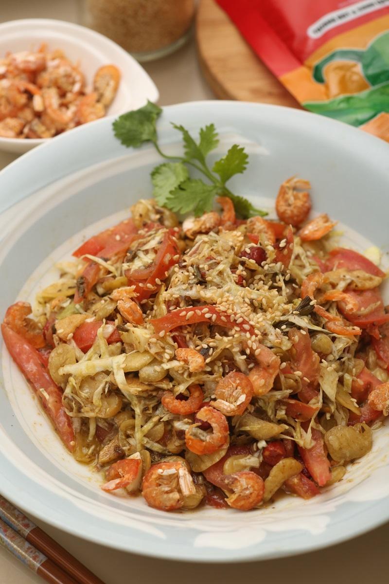 緬甸風味茶葉豆涼拌菜