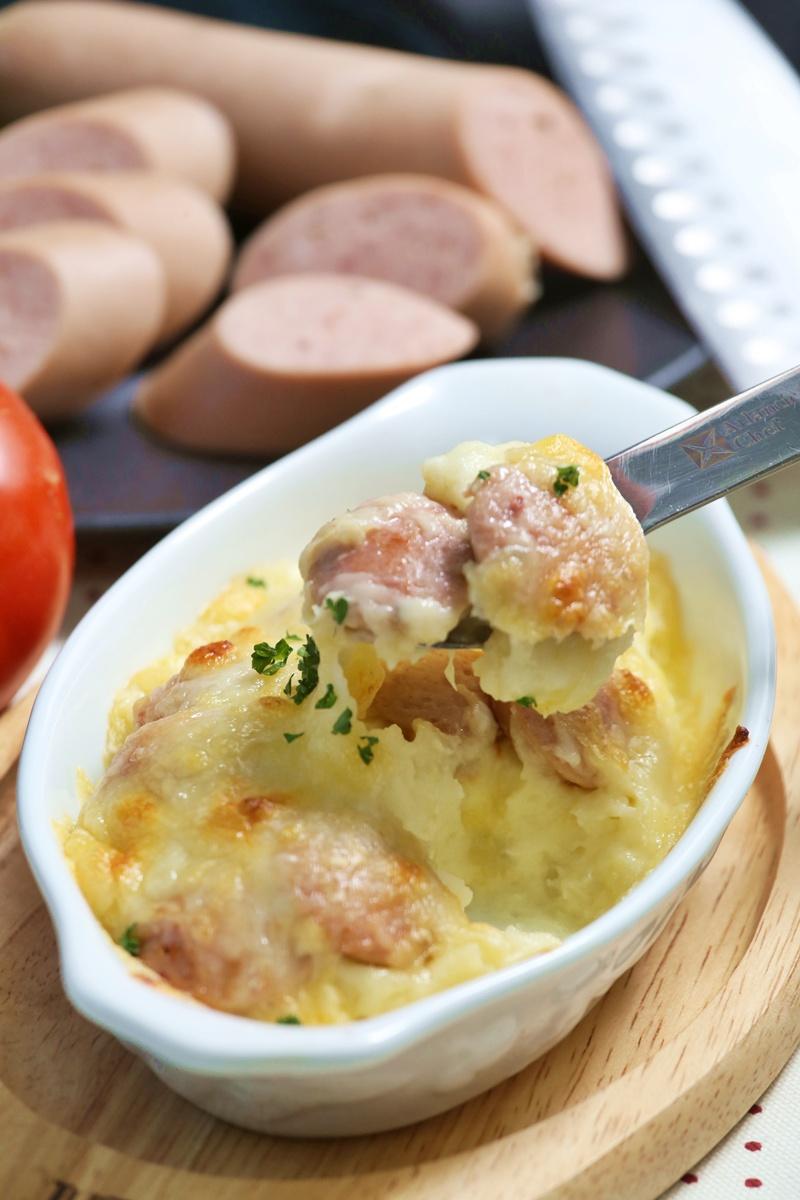 德國油煎香腸焗烤馬鈴薯