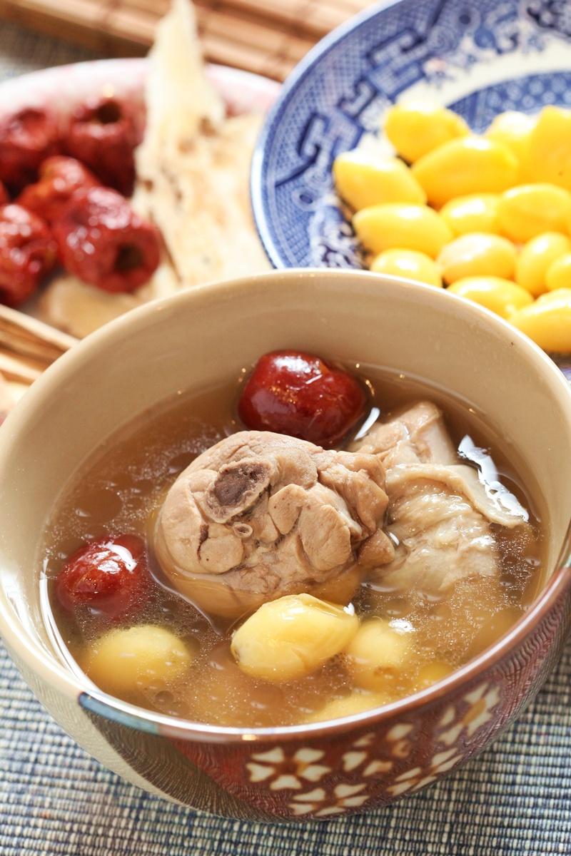 白果仁雞湯