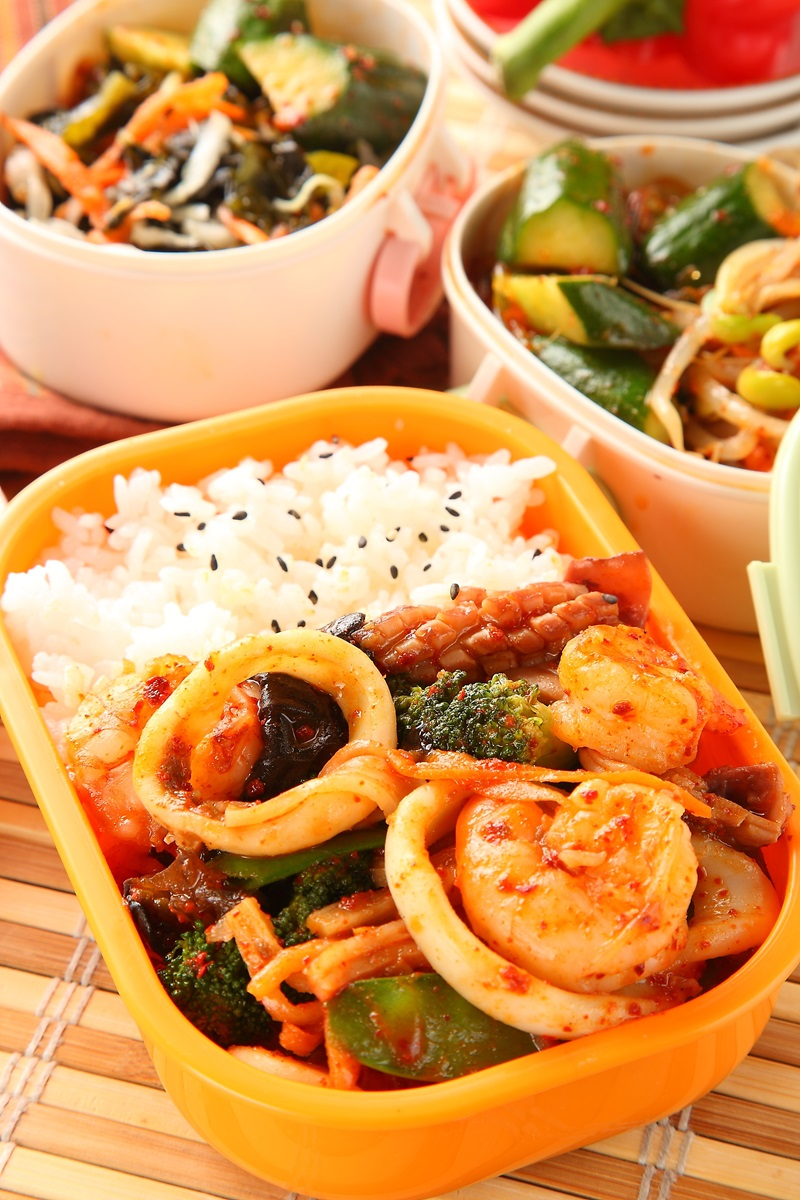 什錦海鮮燴飯