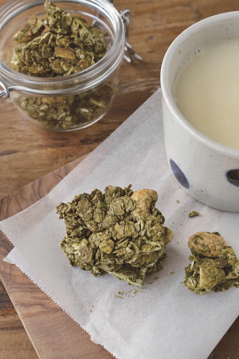 家製抹茶穀麥