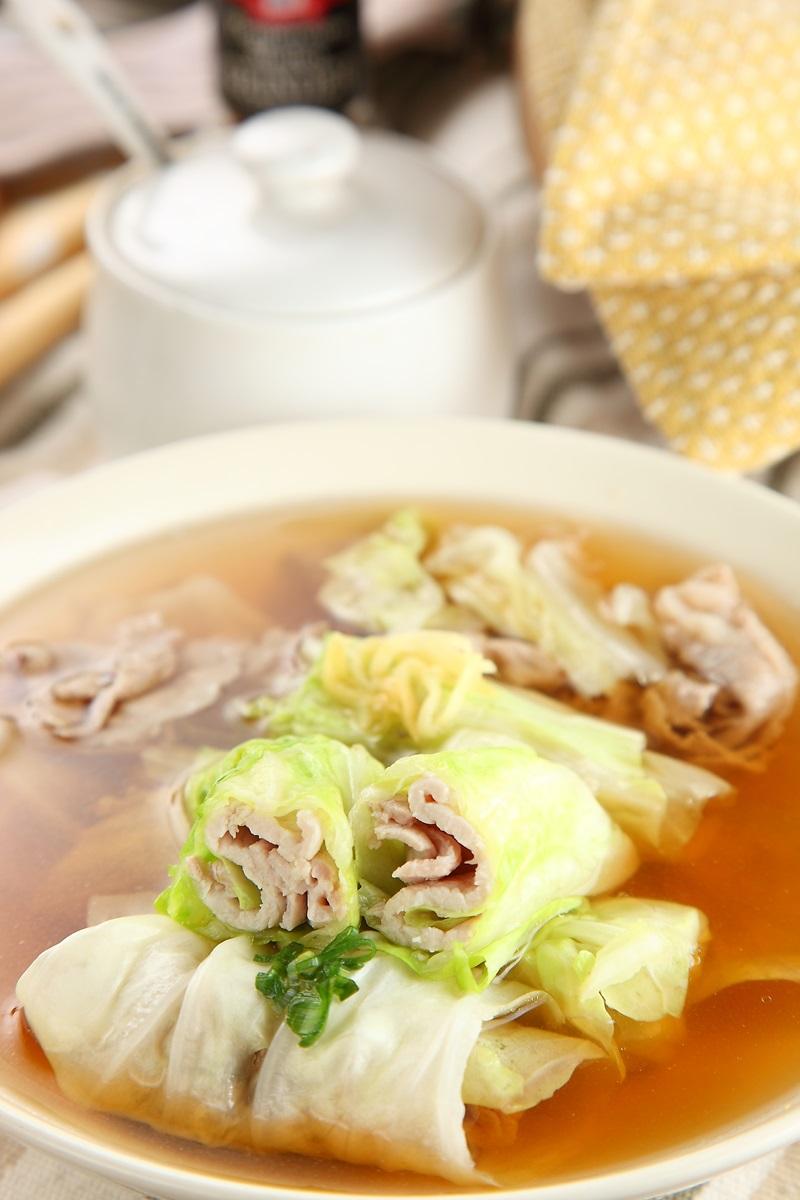 雙色肉卷湯