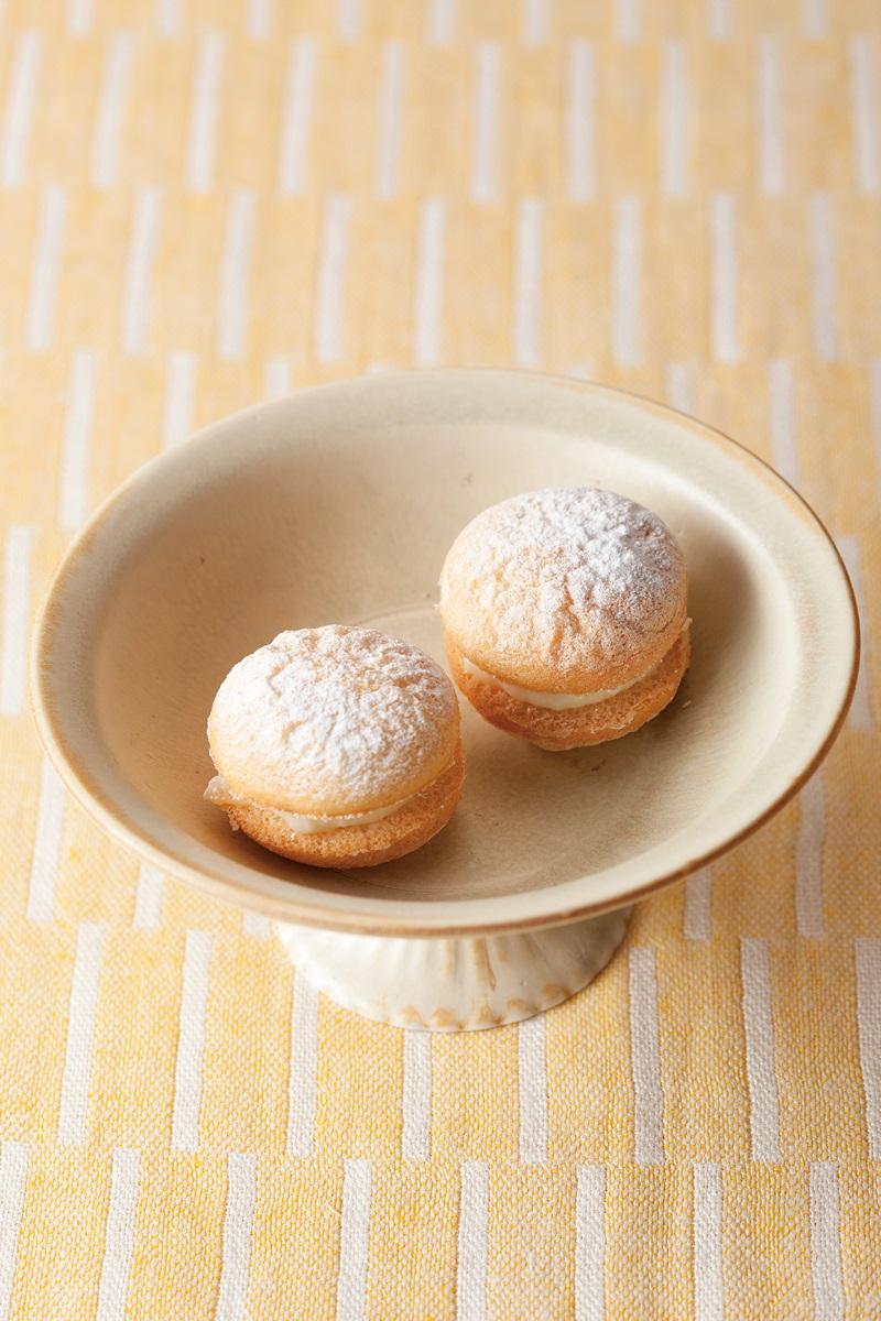 一口法式海綿蛋糕