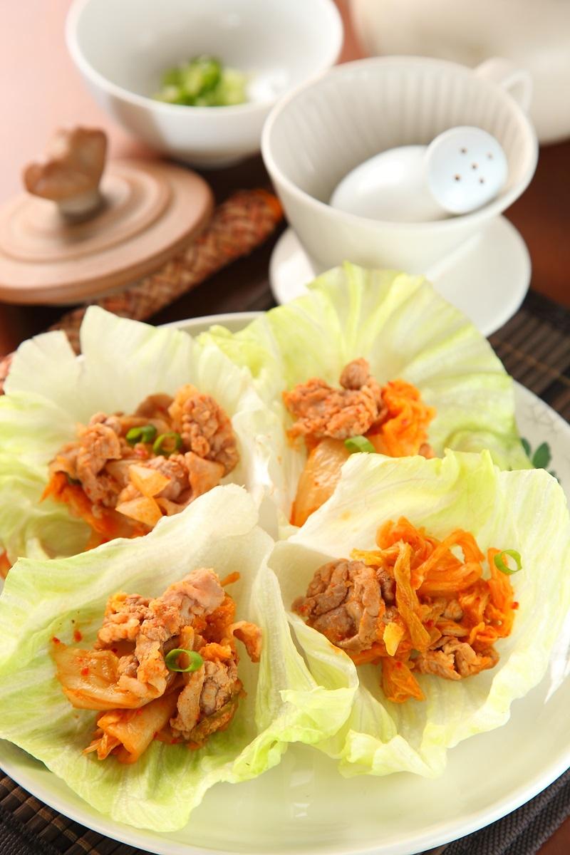 豬肉泡菜卷