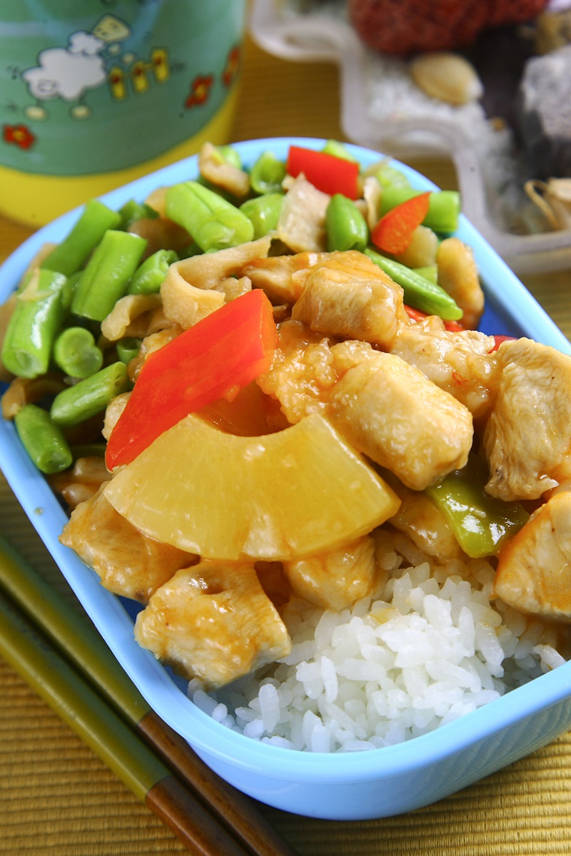 鳳梨糖醋雞