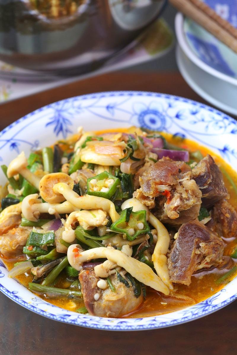 秋葵雪菇燉肉 Nigeria Okra Soup