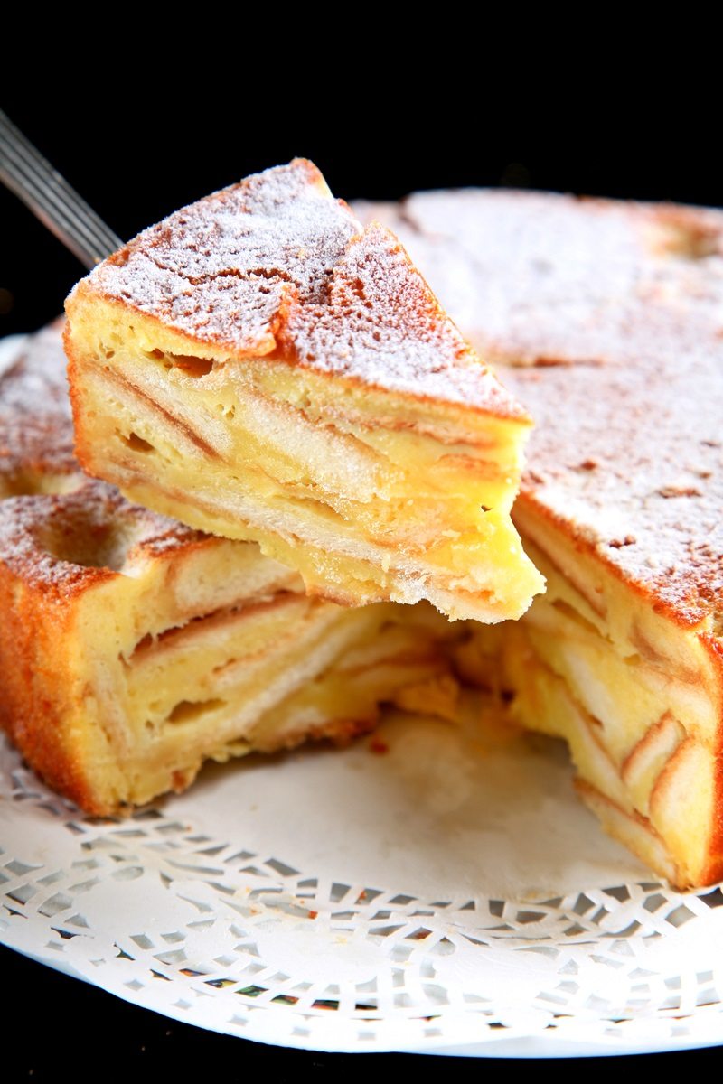 法式吐司邊蛋糕