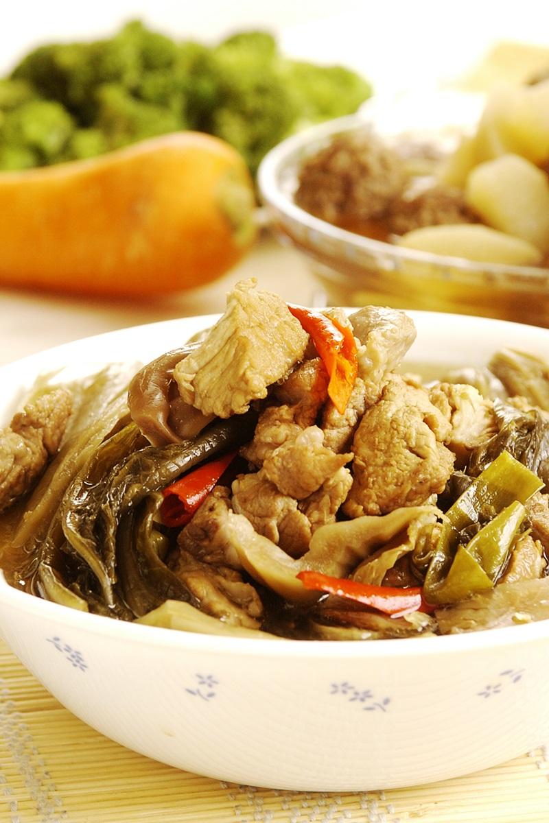 福菜滷肉塊
