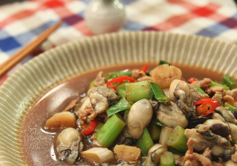 豆豉鮮蚵 (影片)
