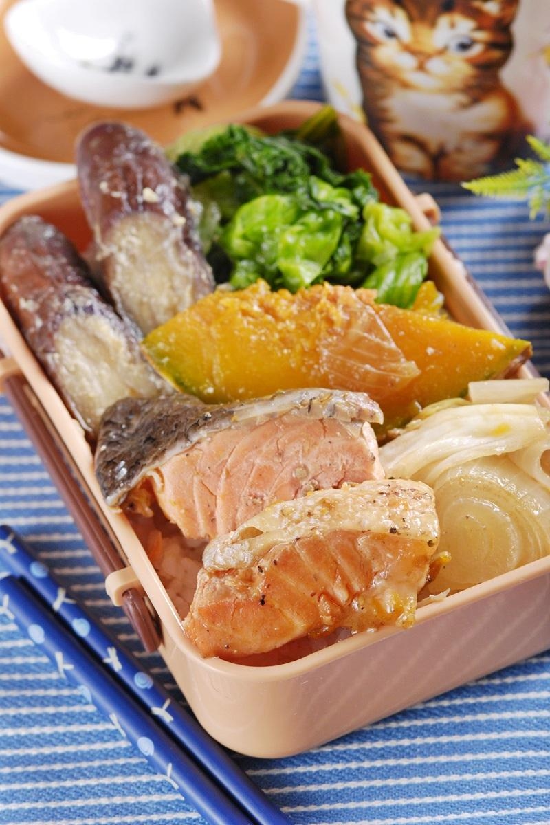 鮭魚南瓜燒