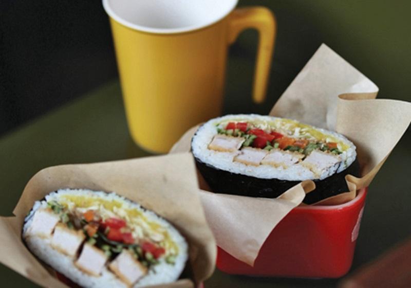 炸豬排高麗菜三明治壽司