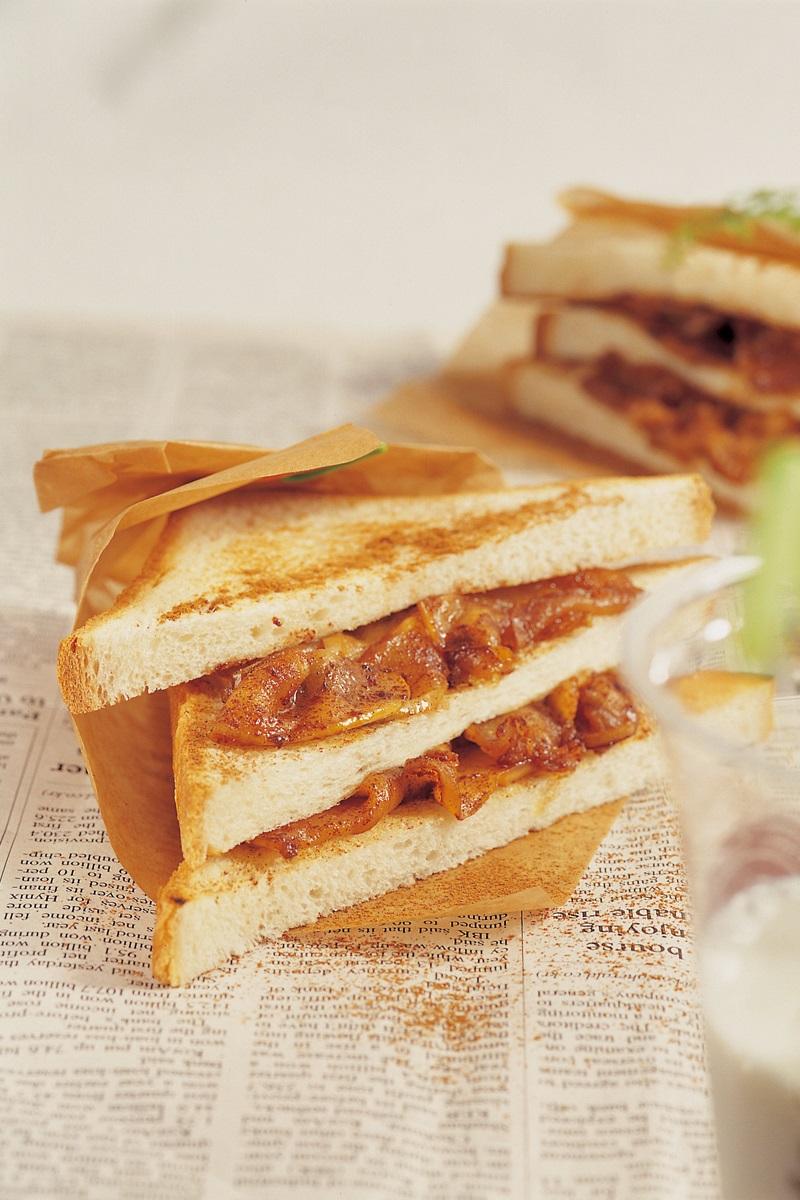 蘋果肉桂三明治