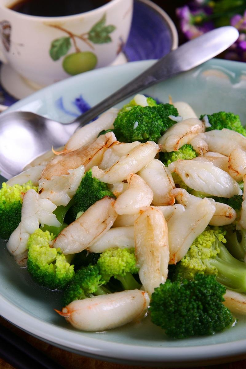 蟹肉花椰菜