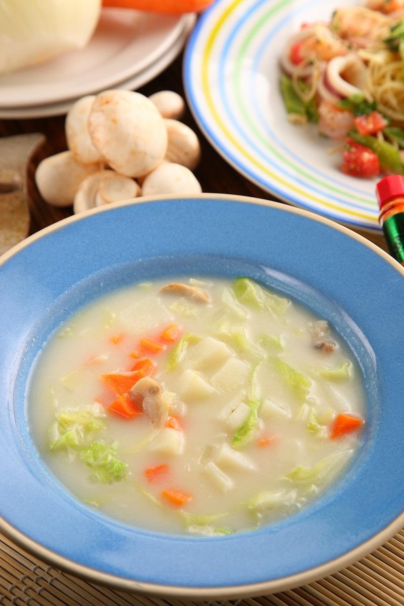 蔬菜奶油濃湯