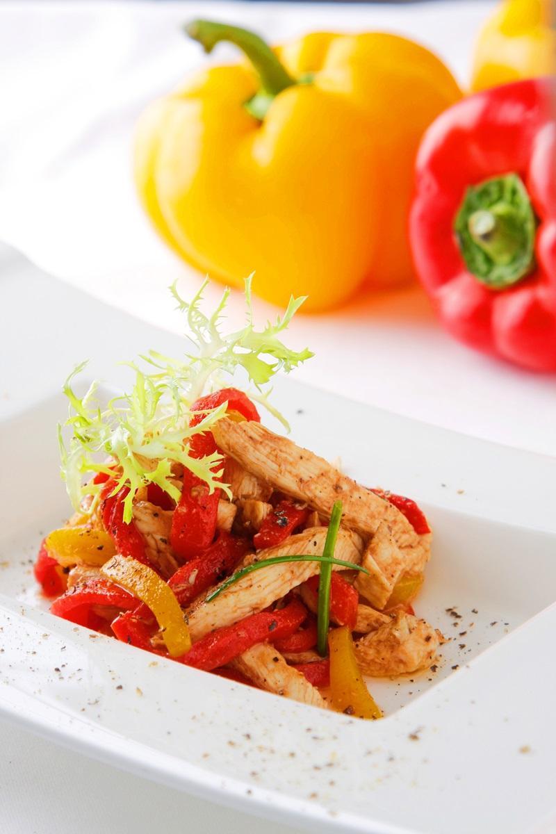 雞肉甜椒沙拉
