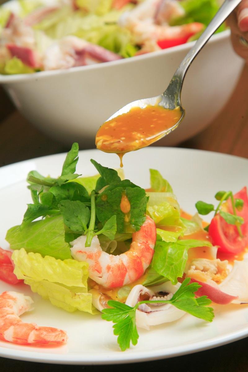 香橙海鮮沙拉