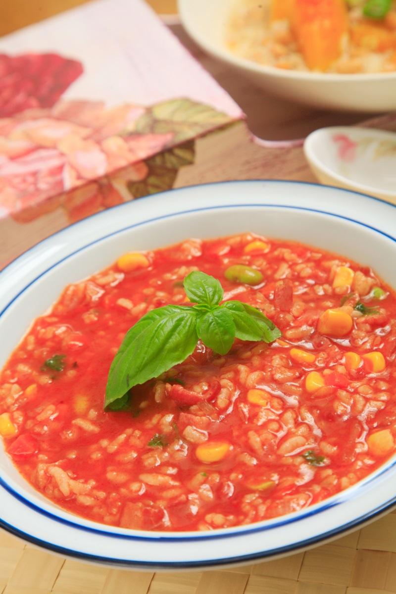 茄汁培根湯粥