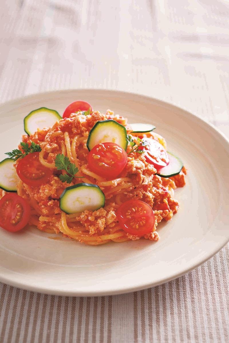 豆腐番茄養生義大利肉醬麵