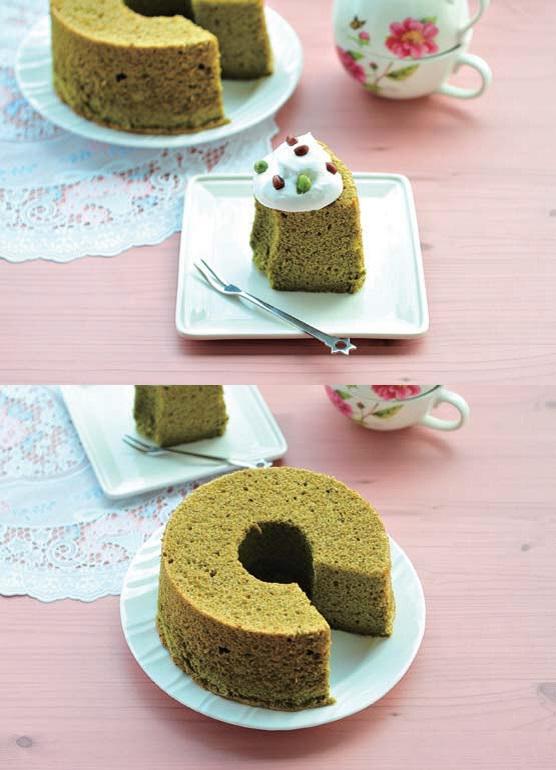 綠茶戚風蛋糕