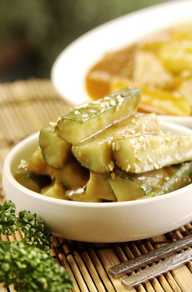 韓式味噌小黃瓜
