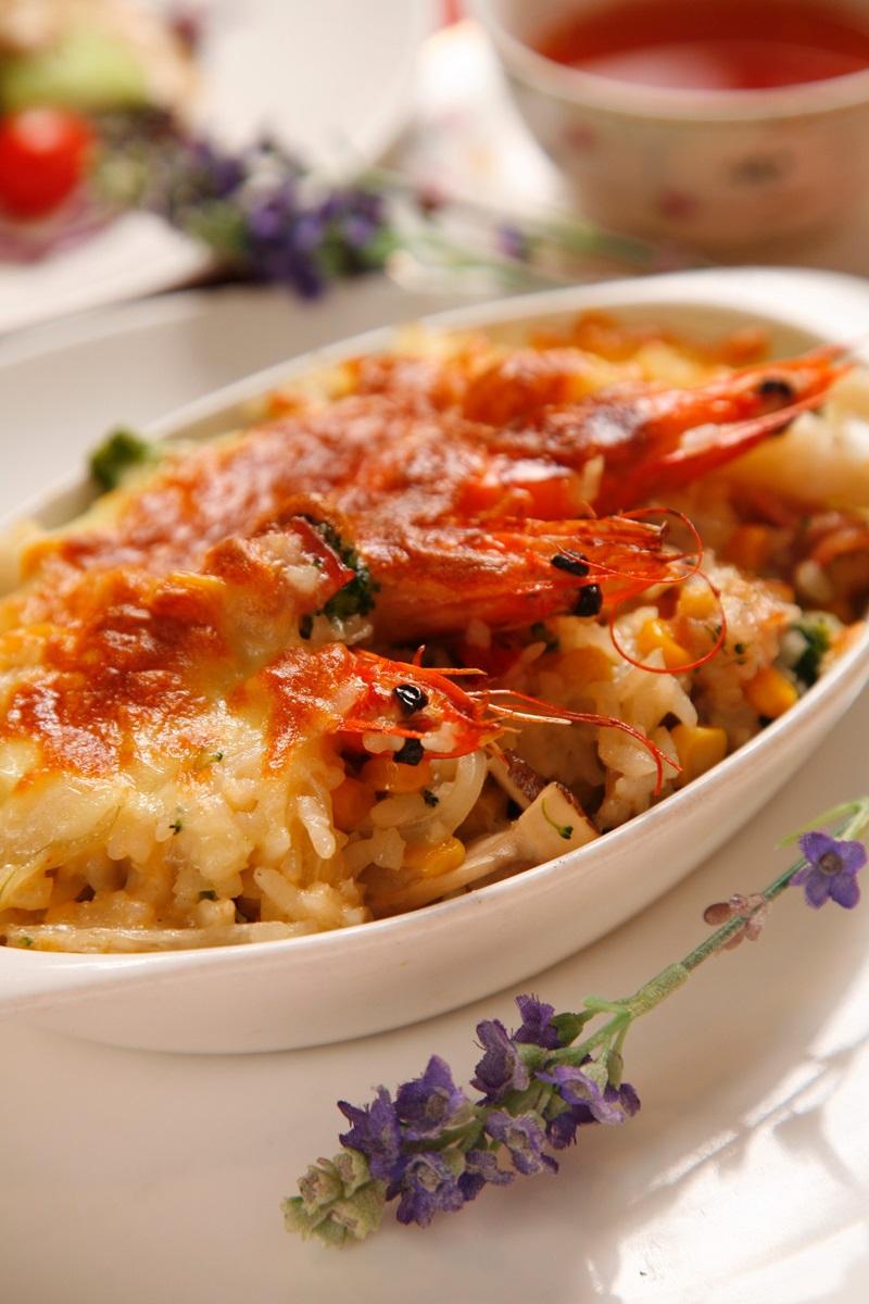 海鮮焗烤燉飯