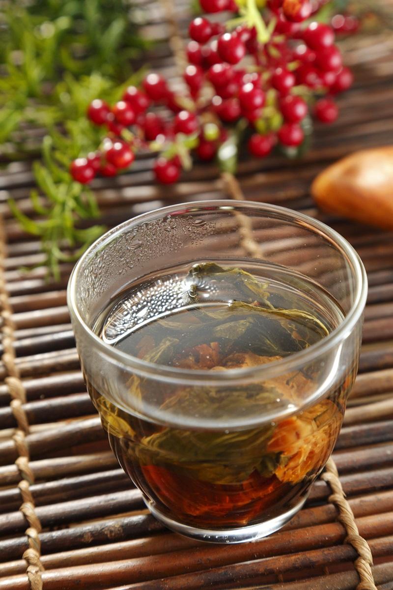 黃精杜仲茶