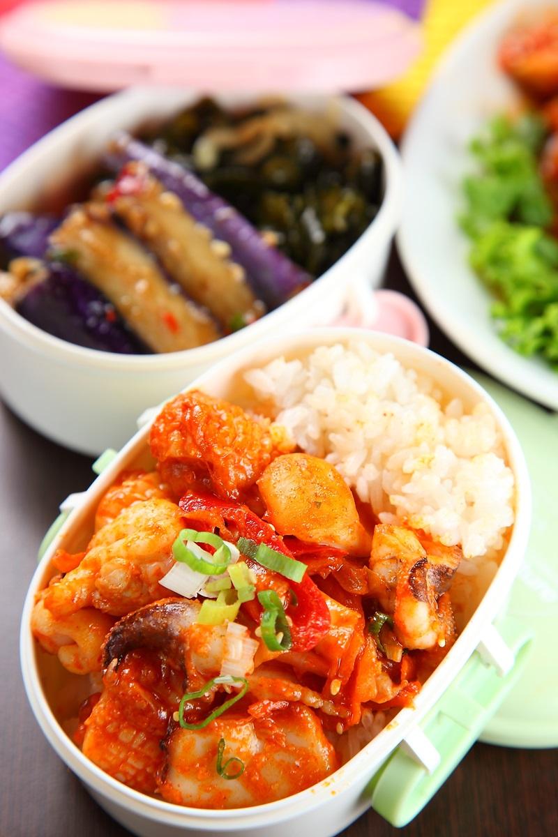 韓式辣炒花枝