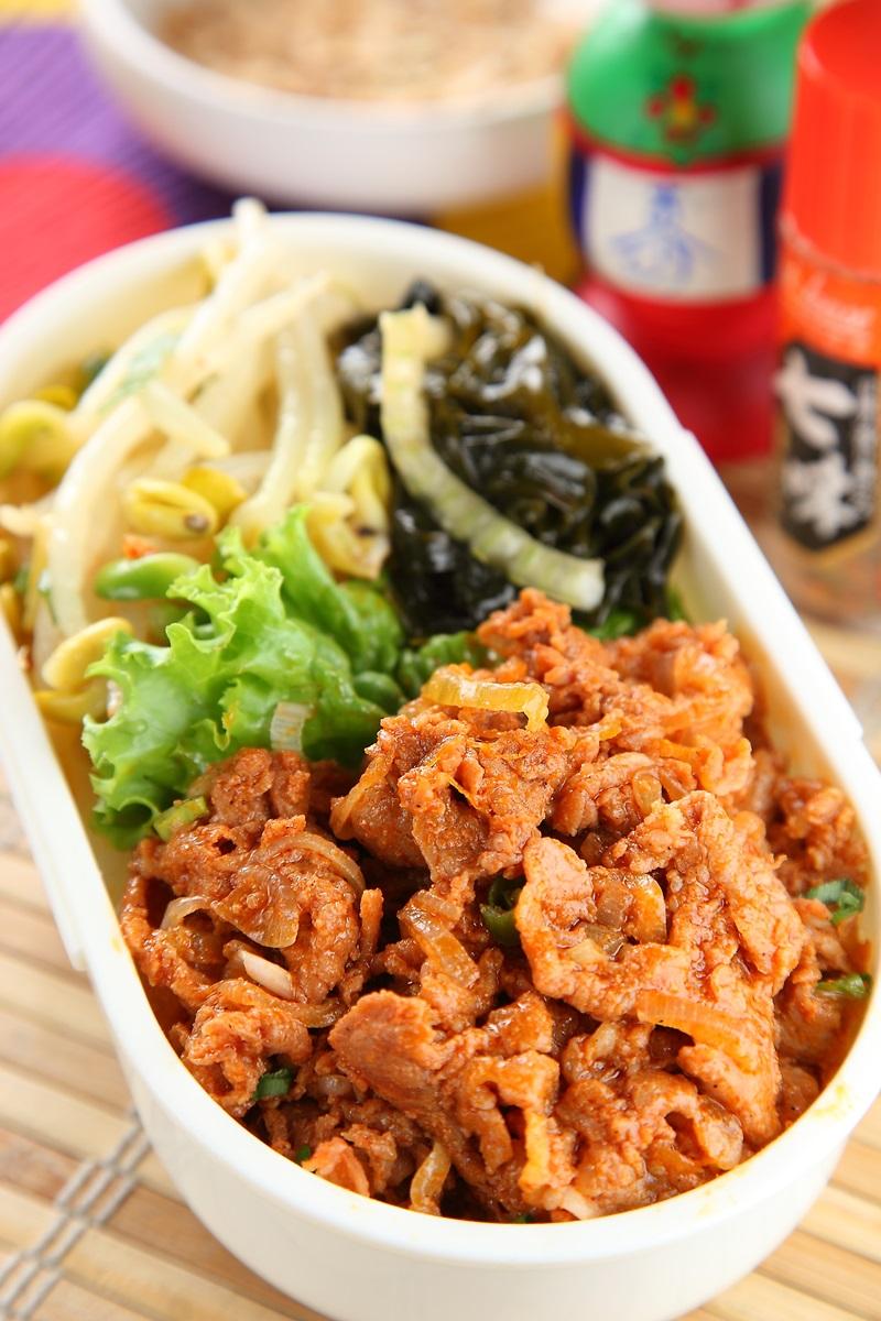 韓式辣炒豬梅花