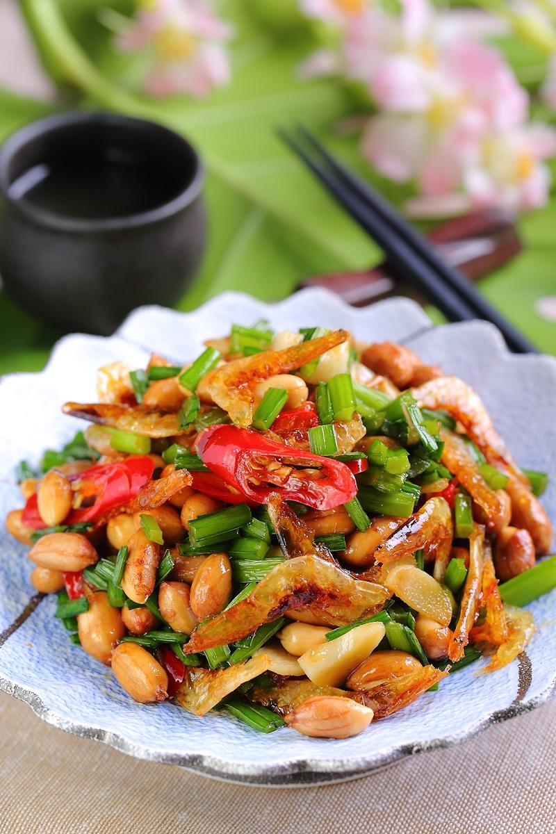 韭菜櫻花蝦