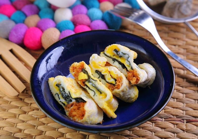 海苔肉鬆歐姆蛋卷