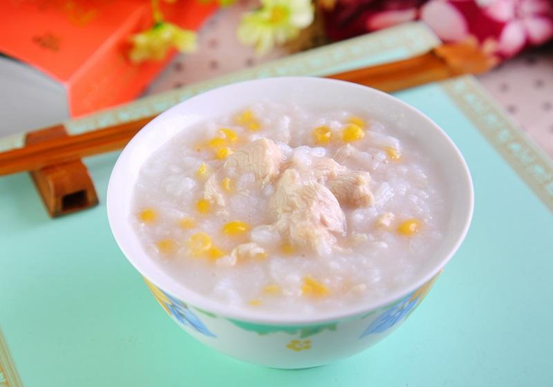 雞茸玉米粥