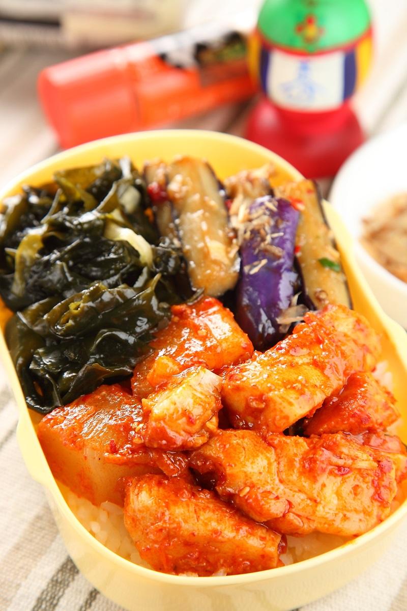 韓式醬燒圓鱈