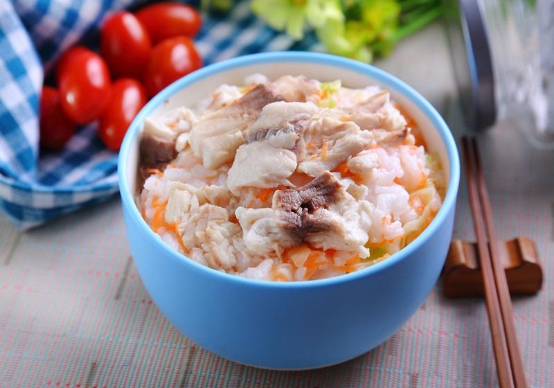 高麗菜鮮魚粥