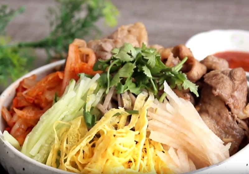 韓式冷麵(影片)