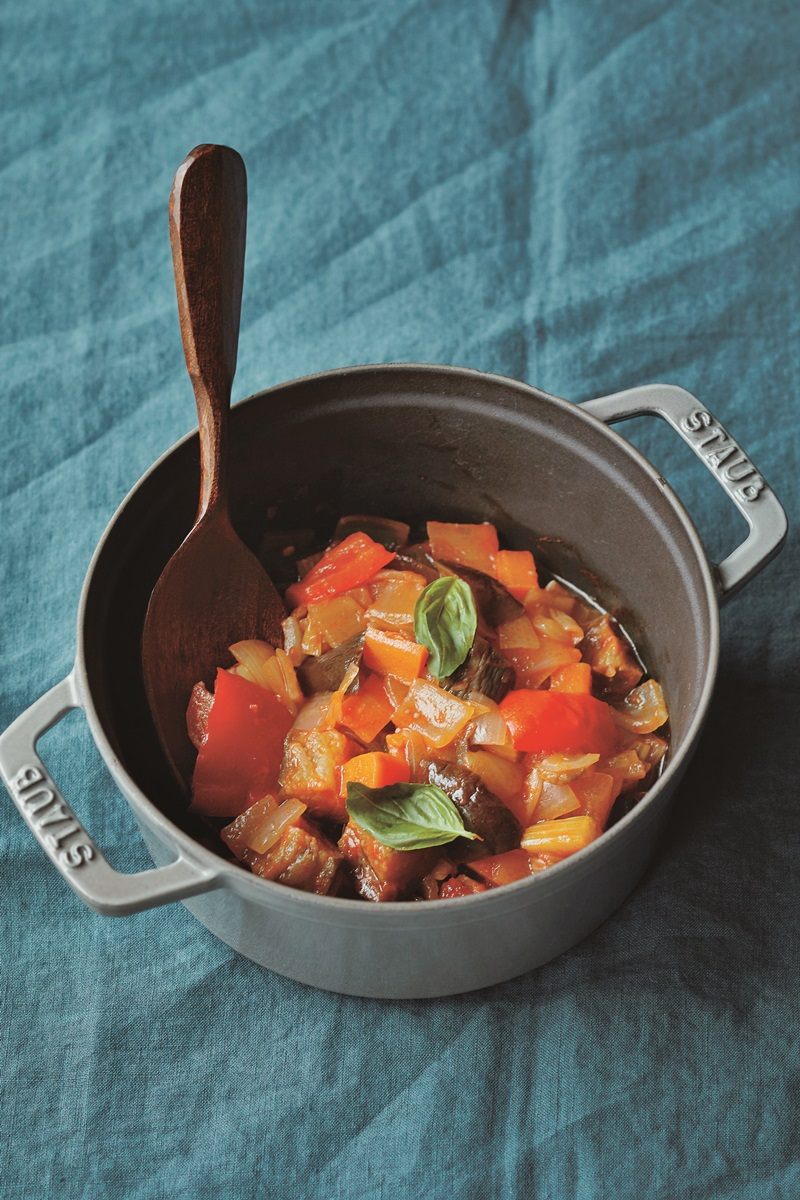 鑄鐵鍋食譜 | 無水普羅旺斯燉菜