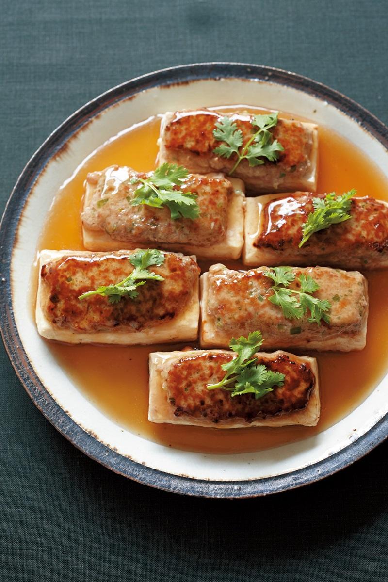 低醣料理 | 中式豆腐鑲肉