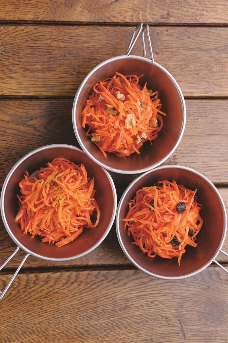果乾紅蘿蔔絲沙拉