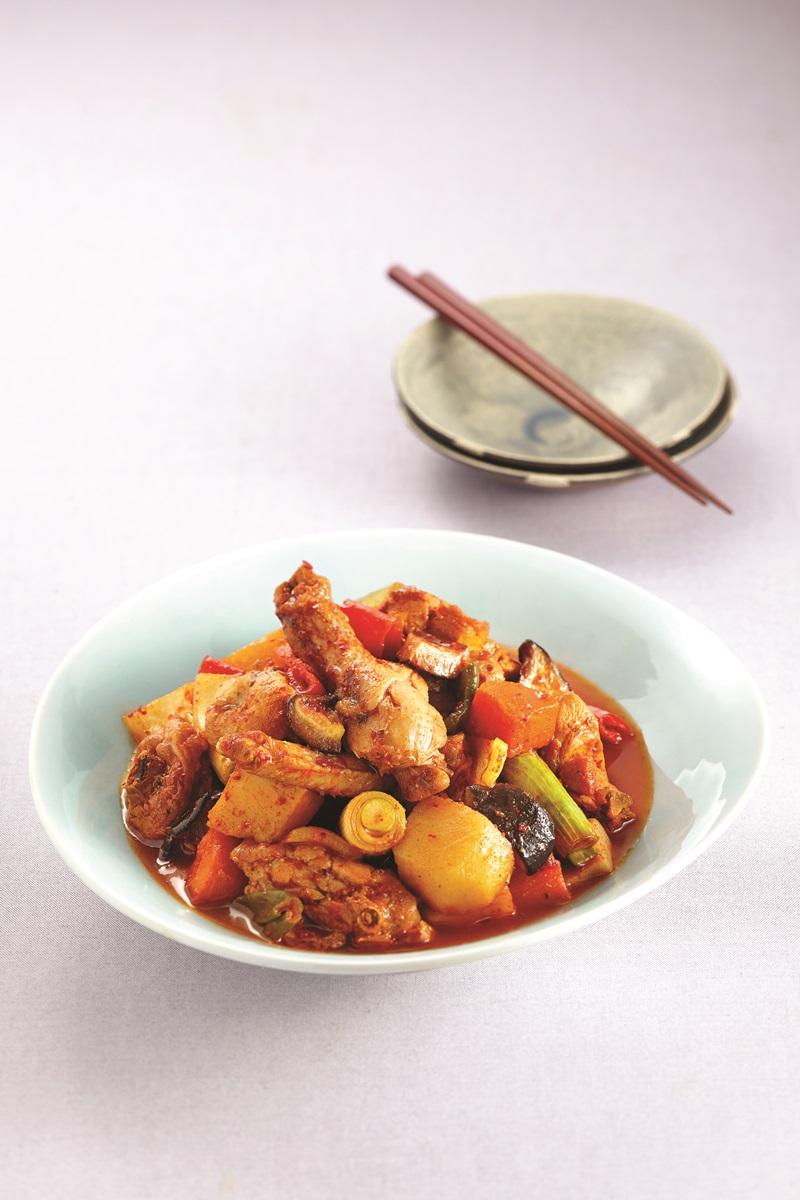 韓式辣燉雞湯